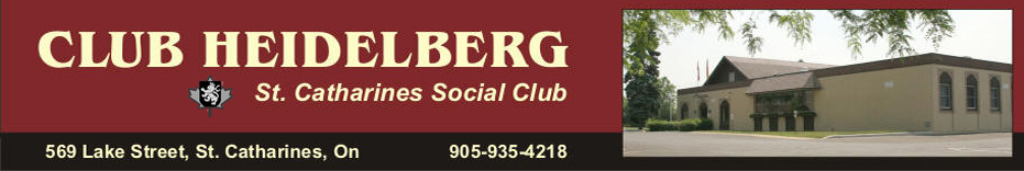 St. Catharines Social Club Heidelberg